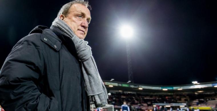Dapper Sparta verliest eerste wedstrijd onder Advocaat van Vitesse
