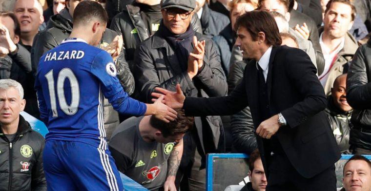 Conte: Het is niet belangrijk of Hazard gelukkig is of niet