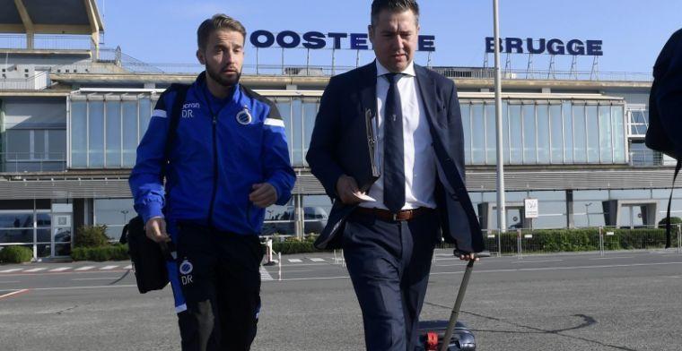 'Onderhandelingen opgeblazen, Club Brugge komt er niet uit met doelman'
