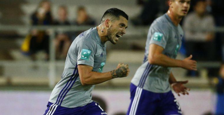 Anderlecht-speler afgekraakt: Een salonvoetballer met broze schouders