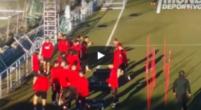 Imagen: Los jugadores del Atlético abuchean al 'Profe Ortega' tras uno de sus ejercicios