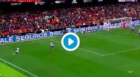 Imagen: VÍDEO   Rodrigo cerró la victoria del Valencia con un excelente desmarque