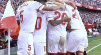 Imagen: OFICIAL | El once del Sevilla para enfrentarse al Atlético de Madrid