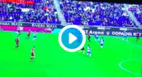 Imagen: VÍDEO   Óscar Melendo adelantó al Espanyol en los últimos minutos de derbi