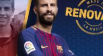 Imagen: OFICIAL l El Barça anuncia la renovación de Gerard Piqué
