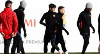 Imagen: Tres pesos pesados se ausentan del entrenamiento del Barcelona