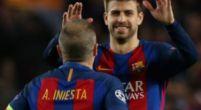 Imagen: Iniesta se alegra por la renovación de Piqué y asegura que su vuelta está cerca