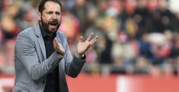 """Machín: El punto ante el Atlético nos da confianza pero no nos relajamos"""""""