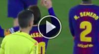 Imagen: VÍDEO | Suárez se inventó un pase escandaloso para que Messi marcara su doblete