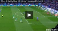 Imagen: VÍDEO | Munir adelantó al Alavés en una jugada extraña para el 'Lega'
