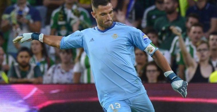 Adán lamenta la goleada contra el Barça ante su público