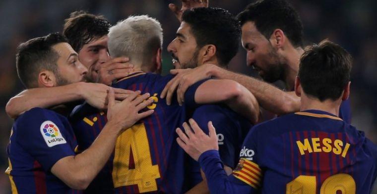 Messi resalta el gran esfuerzo de todo el equipo para golear en el Villamarín