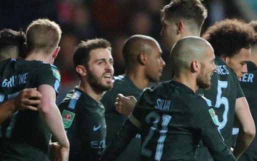 Afbeelding: City schakelt stuntploeg uit en plaatst zich voor finale League Cup