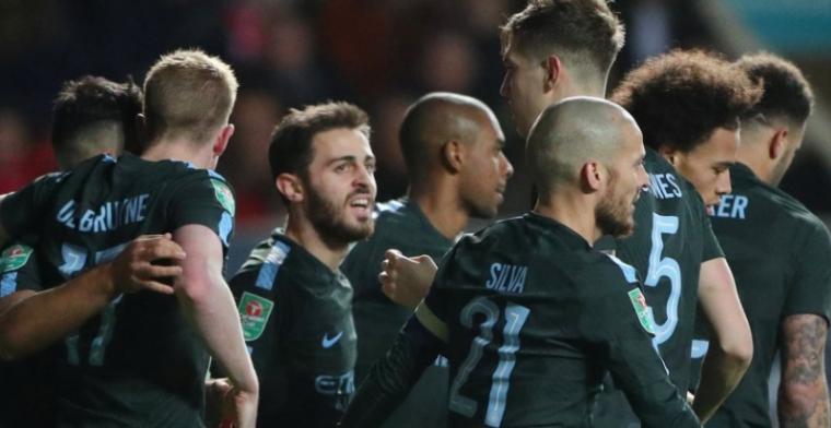 City schakelt stuntploeg uit en plaatst zich voor finale League Cup