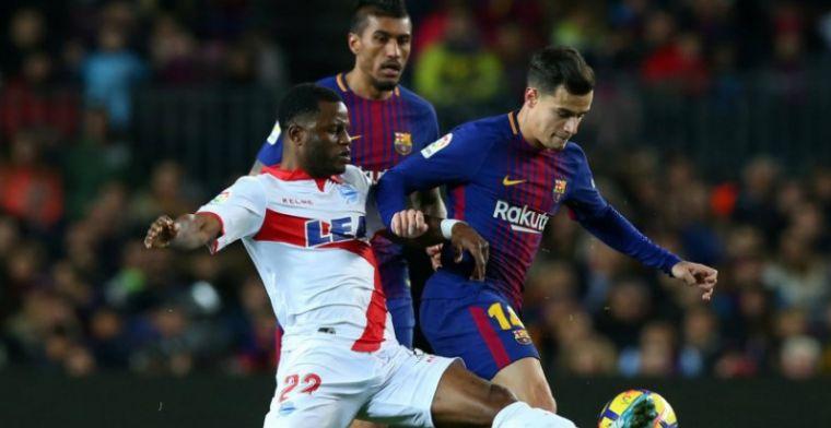 Barcelona blijft ongeslagen in Primera División: magische Messi matchwinner