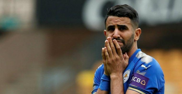 Update: 'Teleurgestelde Mahrez blijft opnieuw weg bij training Leicester'