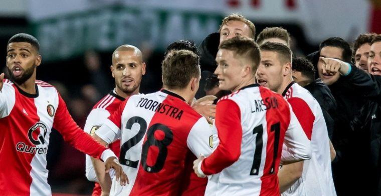 Wéér een thuiswedstrijd voor 'lucky' Feyenoord: 'Niet meer serieus te nemen'
