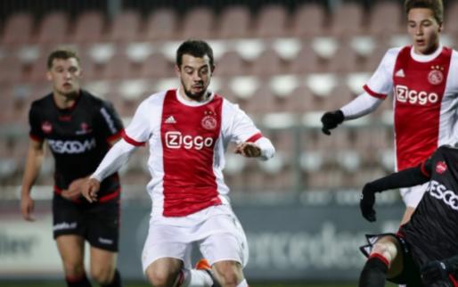 Afbeelding: Younes helpt Jong Ajax aan koppositie, ook Jong PSV wint