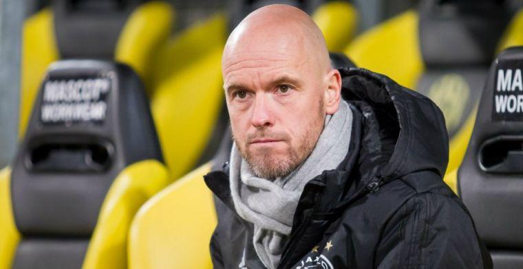 Ten Hag geniet van 'Ajax-patron': 'Uitstekend, echt prima gespeeld'