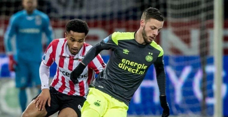 Sparta-aanvoerder begrijpt PSV-kritiek op Nijhuis niet: Wisten we op voorhand