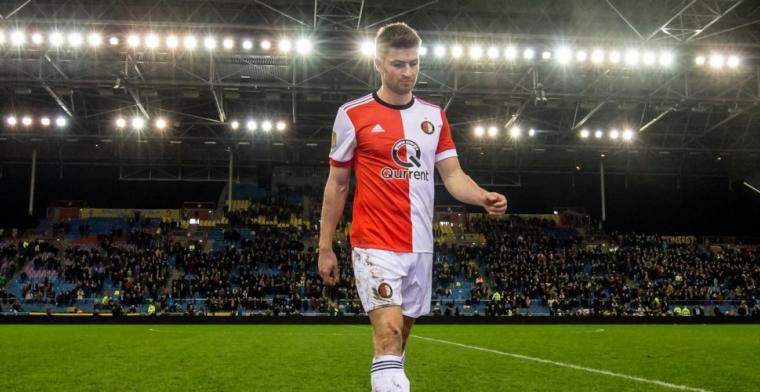 Mogelijk personele problemen voor Feyenoord: 'Ik kan geen linksback spelen'