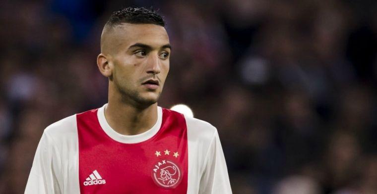 Plotseling nieuwe rol voor Ziyech bij Ajax: Dan kan hij echt zijn ei kwijt