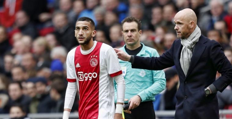 Keuze Ten Hag 'meteen fout' bij Ajax: 'Je ziet wat hij wil'