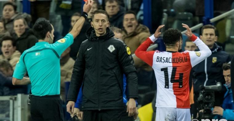 Basacikoglu aangepakt: 'Dan is hij ongeschikt voor een grote club als Feyenoord'