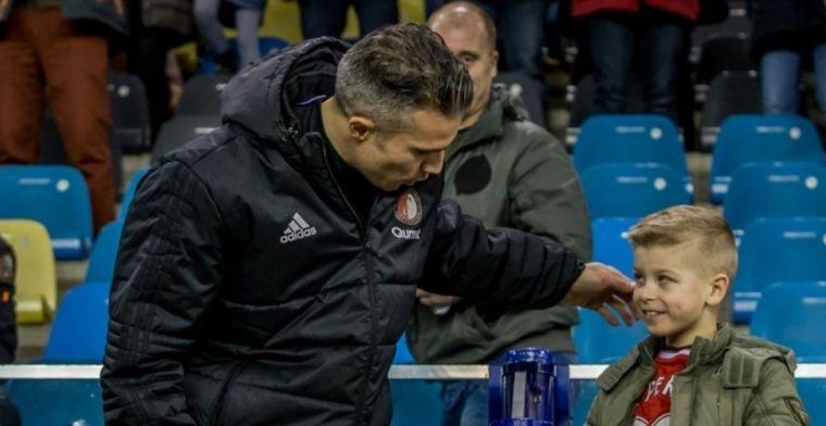 Jonker begrijpt Van Bronckhorst: 'Feyenoord heeft Van Persie nu nog niet nodig'