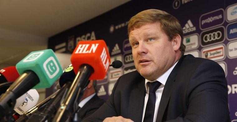'Vanhaezebrouck maakt zich onmogelijk bij Anderlecht en zoekt naar uitweg'