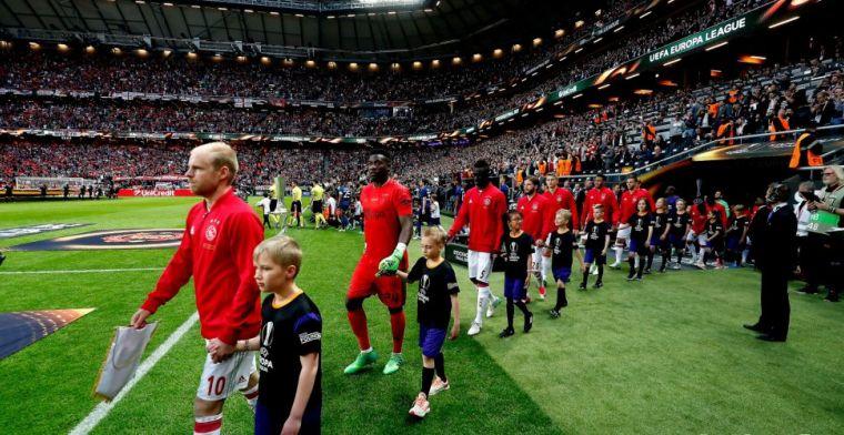 Ajax dient als inspiratie in Europa League: 'Goed voorbeeld van wat mogelijk is'