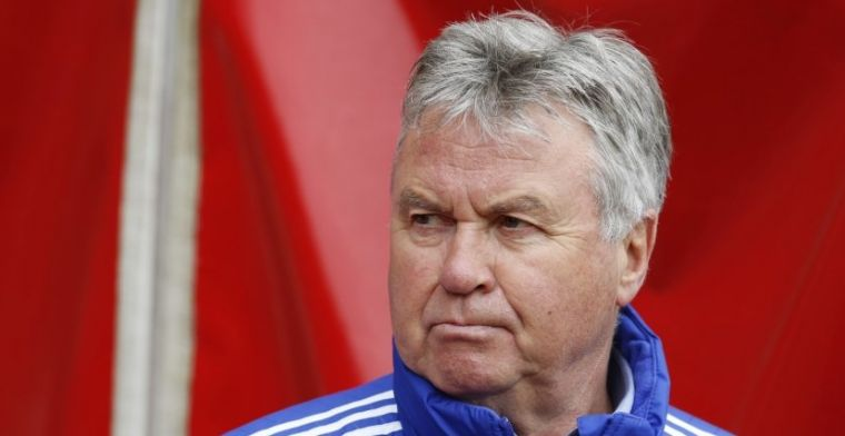 Hiddink over 'enorme klap': Heel lang woedend over geweest