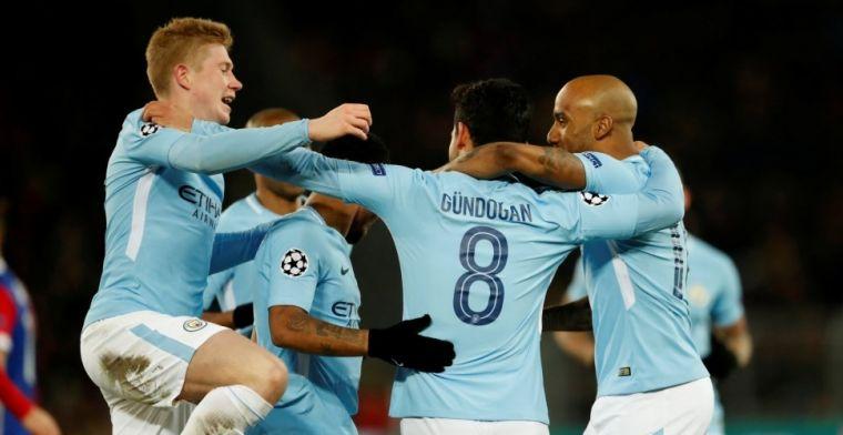 Ontketend Man City scoort erop los en is nu al zeker van plek in kwartfinales