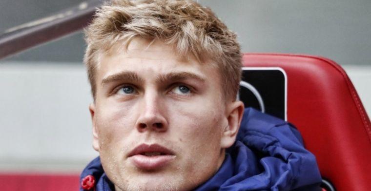Ajax-nieuweling moet wennen aan Ajax-voetbal: 'Niet gewend aan vier man achterin'