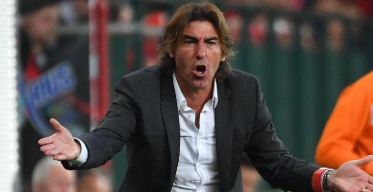 Sa Pinto blikt vooruit op Charleroi en houdt rekenmachine nog even op zak