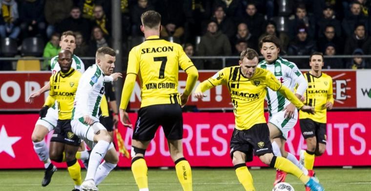 Groningen komt dramatische start te boven en speelt in Venlo gelijk