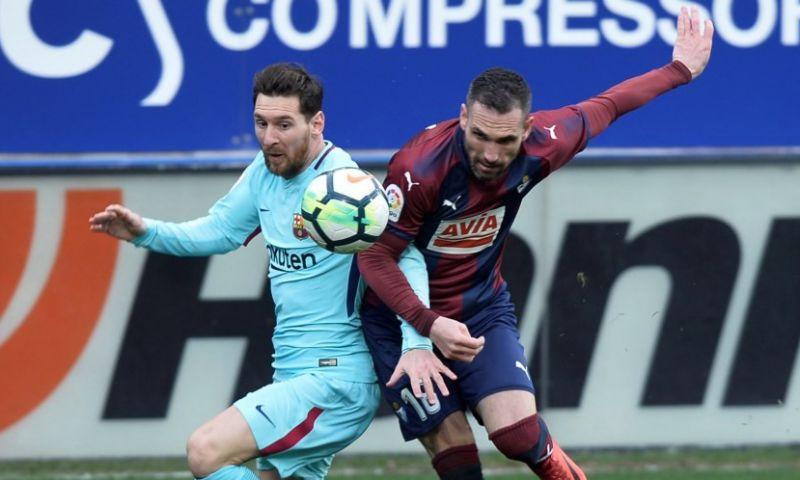 Afbeelding: FC Barcelona wint moeizaam bij Eibar en evenaart Guardiola-record