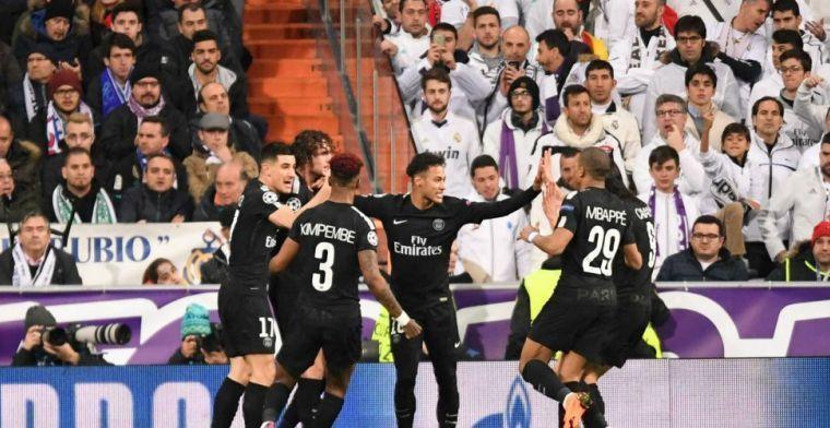 'Real zet hoog in en droomt van aanval Neymar-Ronaldo; PSG stoorzender'