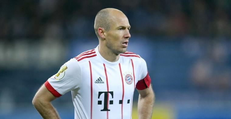 Robben: 'Ben realistisch genoeg om te zeggen dat we het niet verdiend hebben'