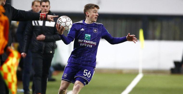 Jonge debutant bij Anderlecht kan bekoren: Hij wist zich te tonen