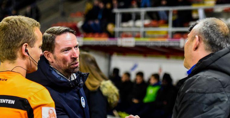 Waasland-Beveren lijkt af te haken voor Play Off I na puntenverlies bij Moeskroen