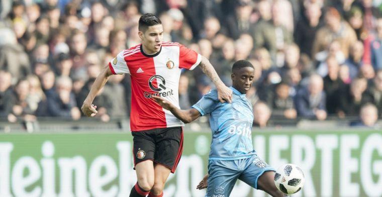 'Ik zit bij Feyenoord en in de zomer kijk ik verder. Ik wil een heel jaar spelen'
