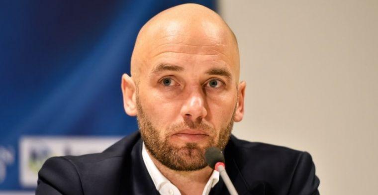 Trainer van Eredivisie-revelatie: 'Het is voor mij de insteek om te blijven'