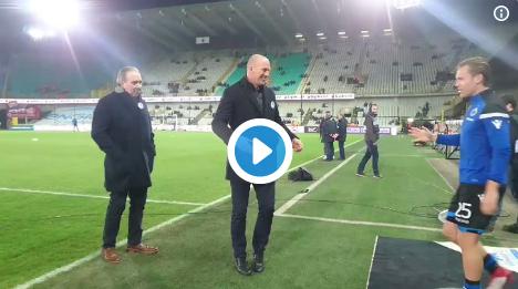 Mooi: Clement is de spelers van Club Brugge nog niet vergeten