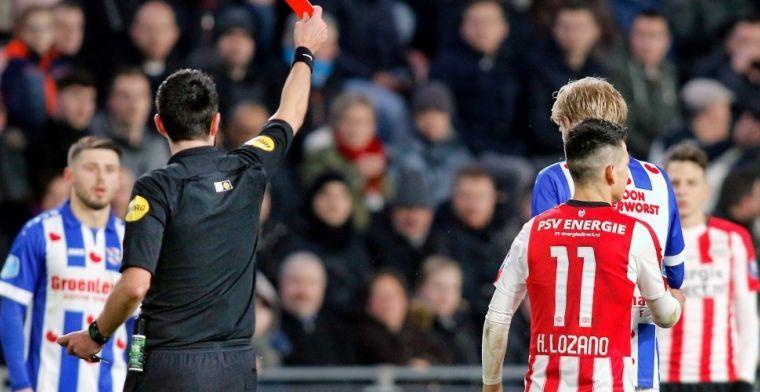 PSV moet Lozano op de vingers tikken: 'Het is gewoon een recidivist'