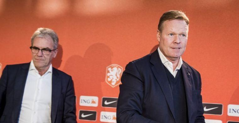 Jong Oranje-talenten maken indruk op Koeman: 'Wel of niet in beeld bij Oranje'
