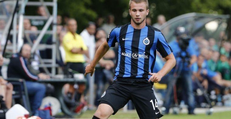 Slecht nieuws voor Club Brugge, huurling verzamelt amper 13 minuten