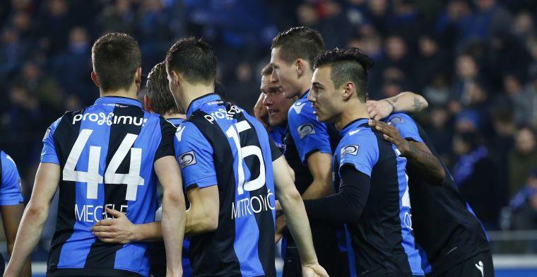 Club Brugge voor derde keer 'kampioen', maar Anderlecht blijft leider