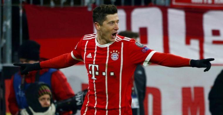 Bayern München haalt uit en kan zich opmaken voor kwartfinales Champions League