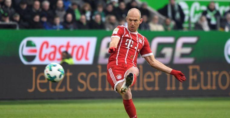 Robben ziet overeenkomsten met vijf jaar geleden: 'Ik vind het best indrukwekkend'